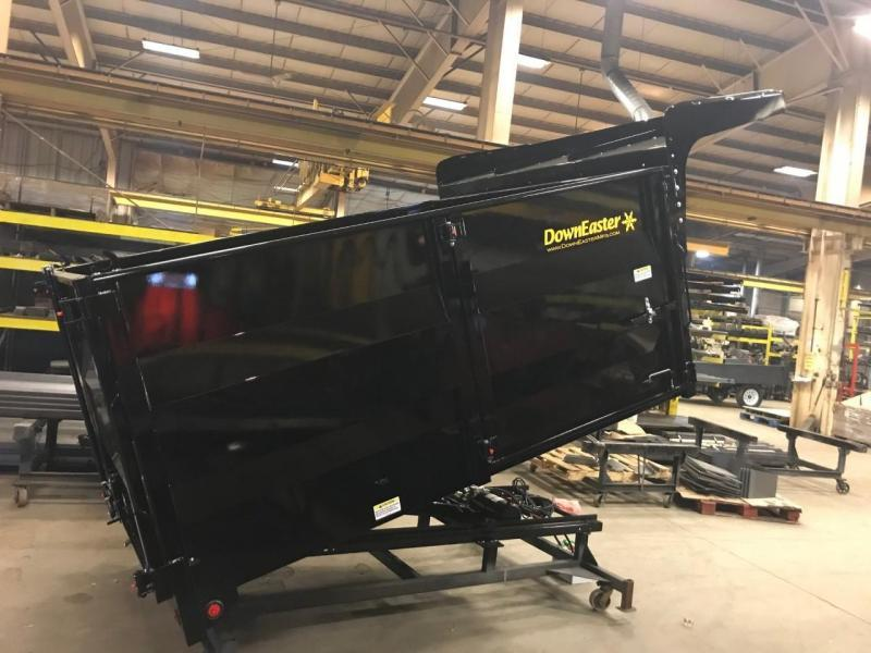 "2019 Downeaster 9' 3"" High Side Landscape Dump Truck Bed"