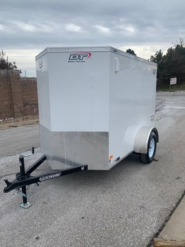 2020 Bravo 5'x8' Enclosed w/ Ramp Door