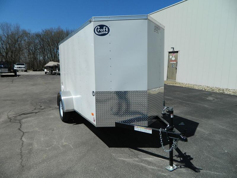 2020 Bravo 5'x10' Enclosed w/ Rear Barn doors