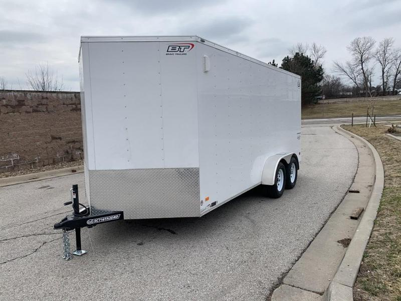 2020 Bravo 7'X16' Enclosed w/ Ramp Door