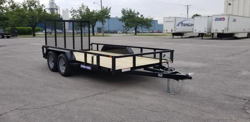 "2020 Sure-Trac 82""x14' Tube Top Utility Trailer w/ Brakes"
