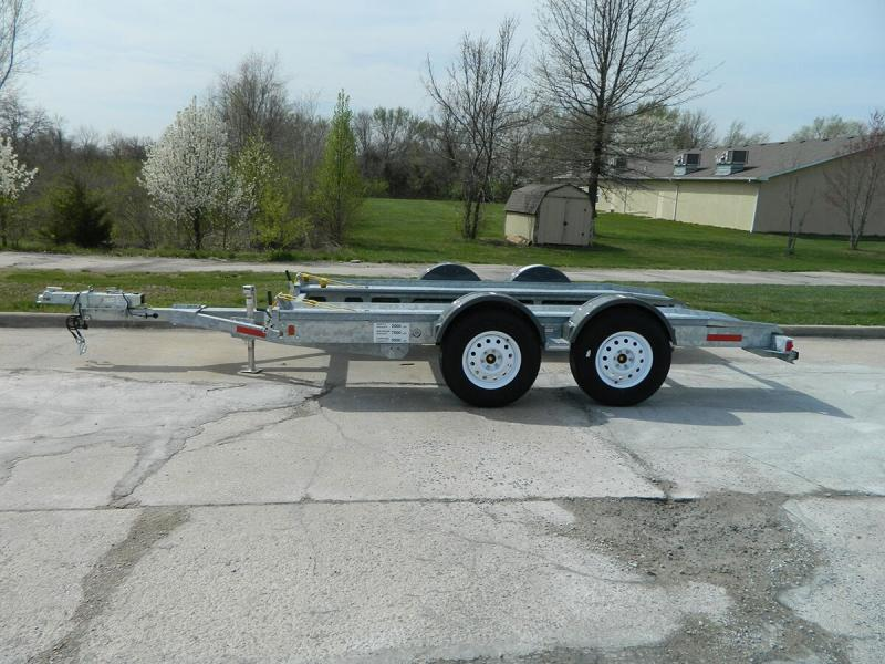 2020 Galvanized Croft Auto Transport - 7k