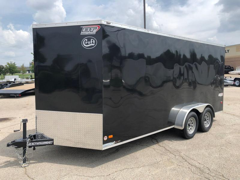 2020 Bravo 7'x16' GT Enclosed w/ Ramp Door