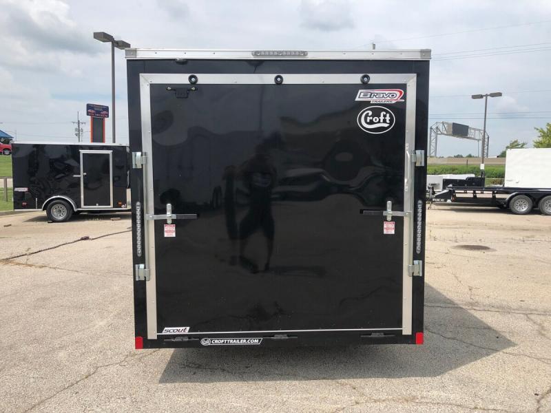 2020 Bravo 7'x16' GT Enclosed w/ Ramp Door