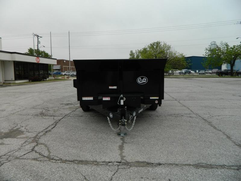 "2019 Sure-Trac 80""x12' HD Low Pro Dump Trailer - 12k"