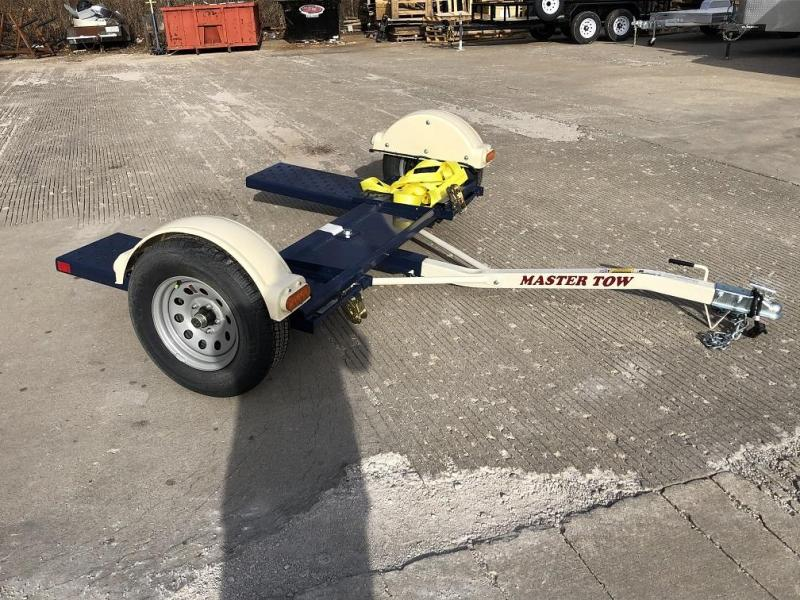 """2020 Master Tow 80"""" Car Dolly - Electric Brakes"""