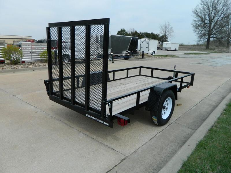 2019 Sure-Trac 5'x10' Angle Iron Utility Trailer