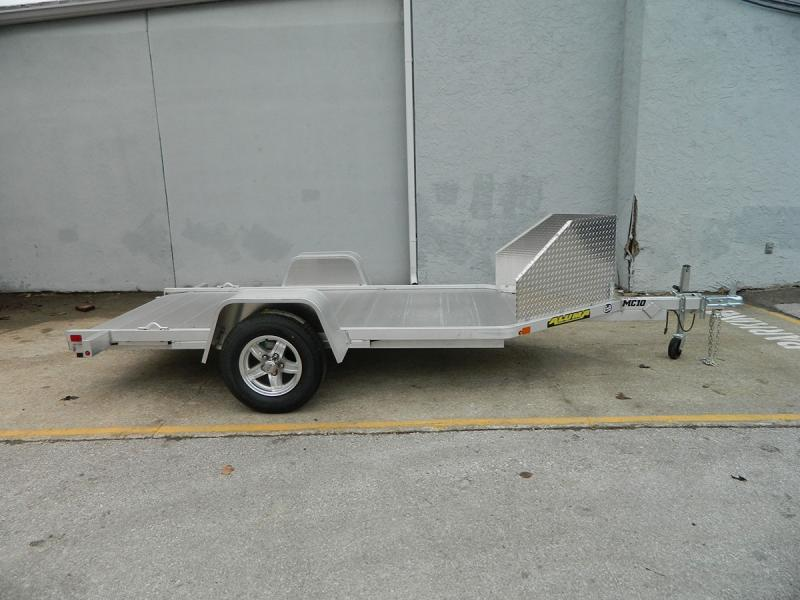 "2019 Aluma 51""x10' Single Bike Hauler"