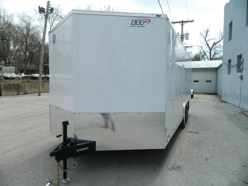 2019 Bravo 8.5'x20' Enclosed Car Hauler