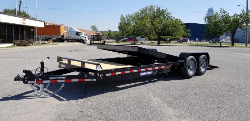 "2020 Sure-Trac 82""x22' Equipment Tilt Trailer - 14k"