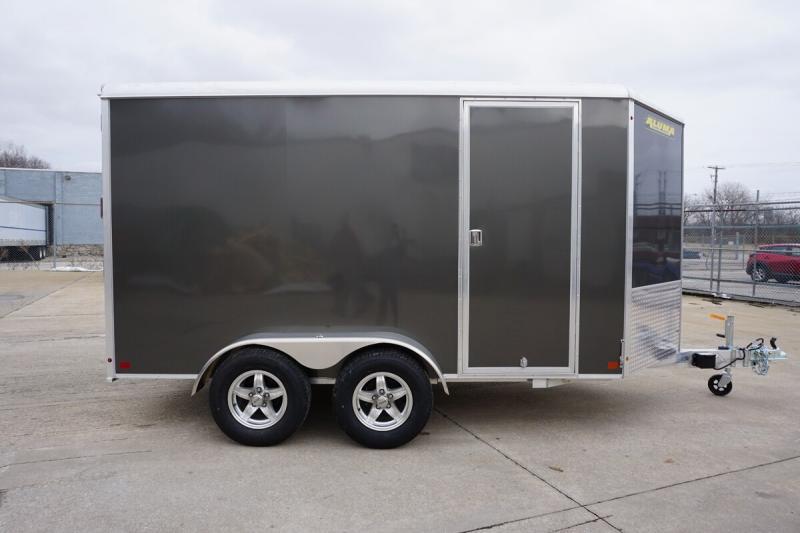 Aluma 6'x12' Tandem Axle Enclosed w/ Ramp Door
