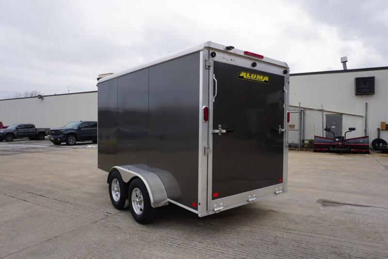 Aluma 6'x12' Tandem Axle Enclosed w/ Ramp Door