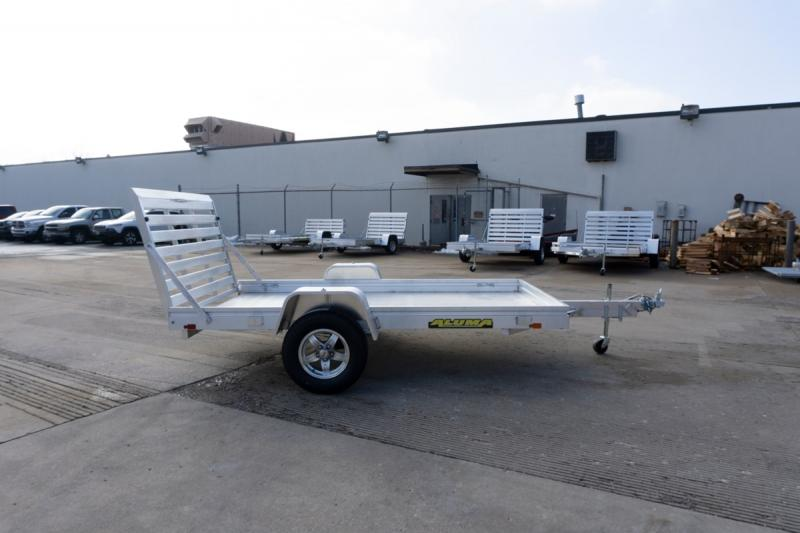 "2020 Aluma 68""x10' Aluminum Utility Trailer - 3.5K"