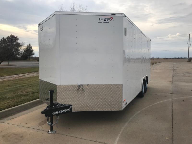 2020 Bravo 8.5'x18' Enclosed w/ Ramp Door