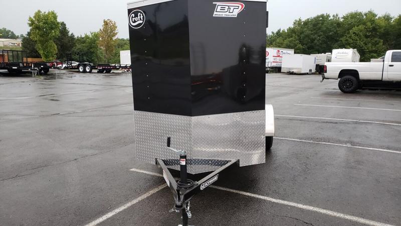 2020 Bravo 5'x10' Enclosed w/ Ramp Door