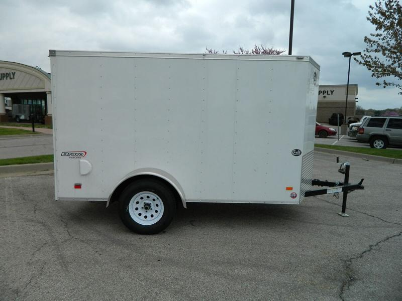 2019 Bravo 5'x10' Enclosed w/ Ramp Door