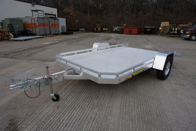 "2020 Aluma 77""x12' Aluminum Tilt Utility Trailer - 3.5k"