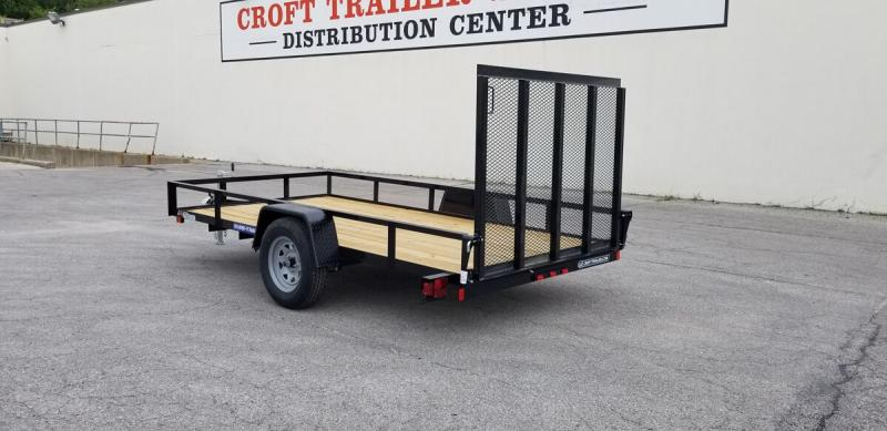 2020 Sure-Trac 6'x12' Angle Iron Utility Trailer