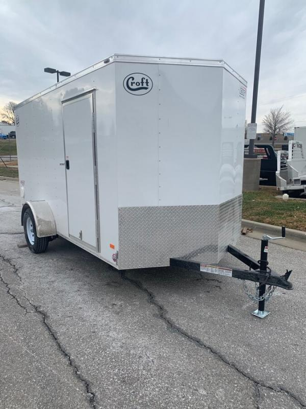 2020 Bravo 6'x12' Enclosed w/ Ramp Door
