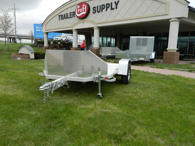 "2019 Aluma 72""x10' Fold Up Dual Bike Hauler"