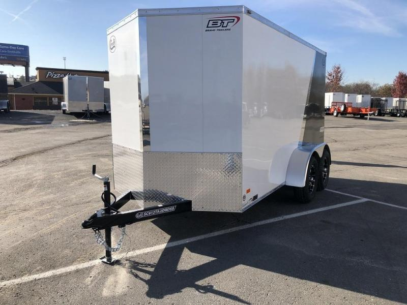 2020 Bravo 6'x12' SS Enclosed w/ Ramp Door