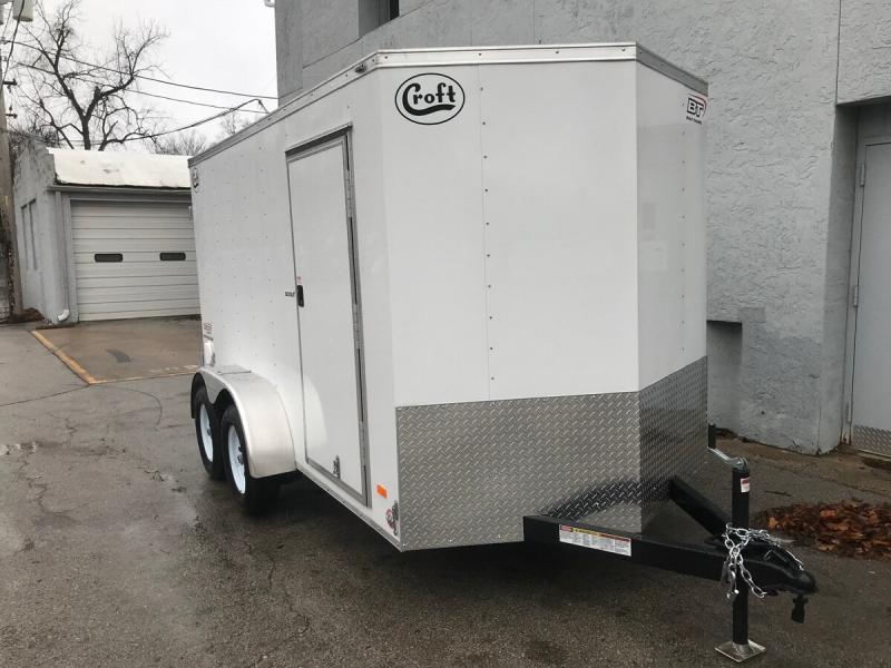 2020 Bravo 6'x12' Enclosed w/ Rear Barn Door