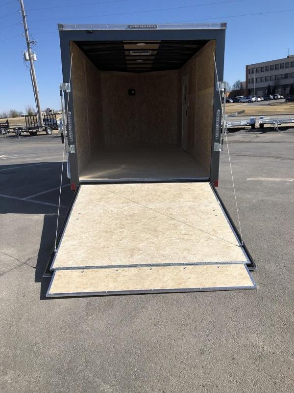 2020 Bravo 7'x14' SS Enclosed w/ Ramp Door