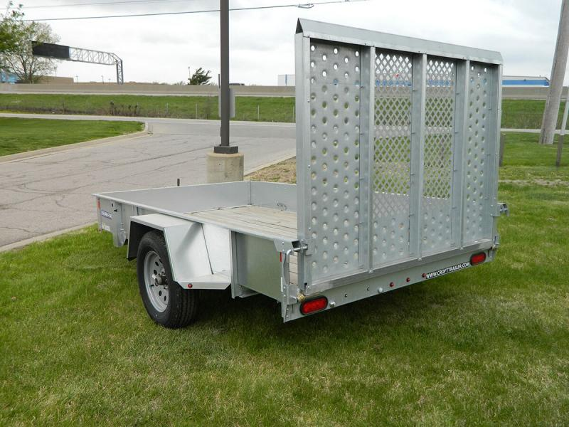 2020 Sure-Trac 6'x10' Galvanized Utility Trailer