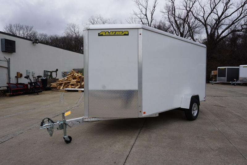 Aluma 6'x12' Single Axle Enclosed w/ Ramp Door
