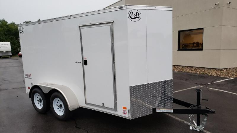 2020 Bravo 6'x12' GT Enclosed w/ Rear Barn Doors