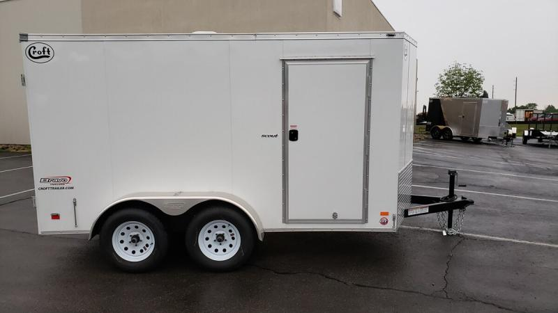 2020 Bravo 6'x12' GT Enclosed w/ Rear Barn Doors