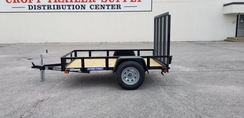 2020 Sure-Trac 5'x8' Angle Iron Utility Trailer