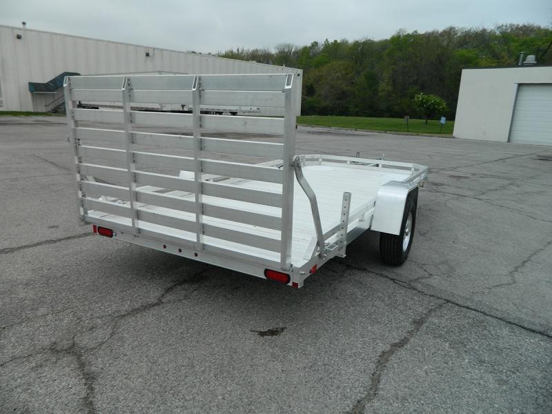 "2020 Aluma 78""x14' Aluminum Utility Trailer - 3.5k"