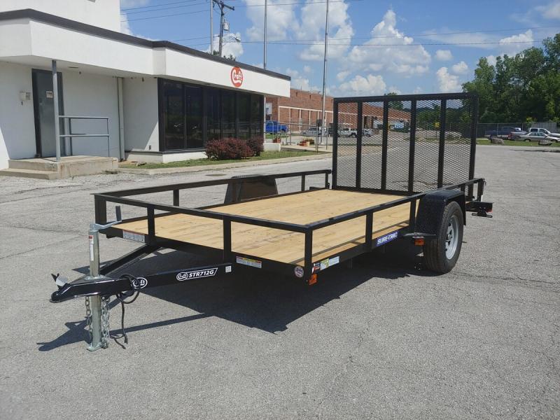 2020 Sure-Trac 7'x12' Angle Iron Utility Trailer