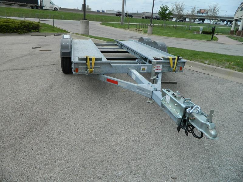 2018 Galvanized Croft Auto Transport - 7k