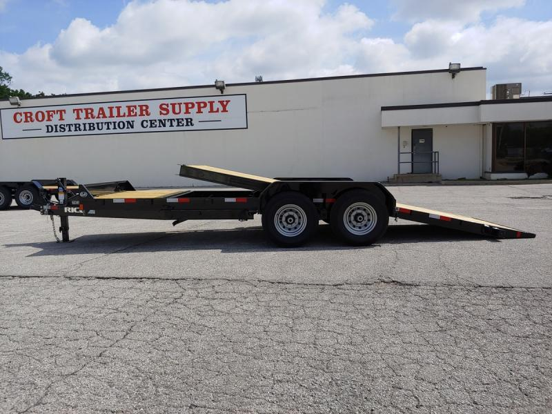 "2020 Rice 82""x16'+4' Equipment Tilt Trailer - 14k"