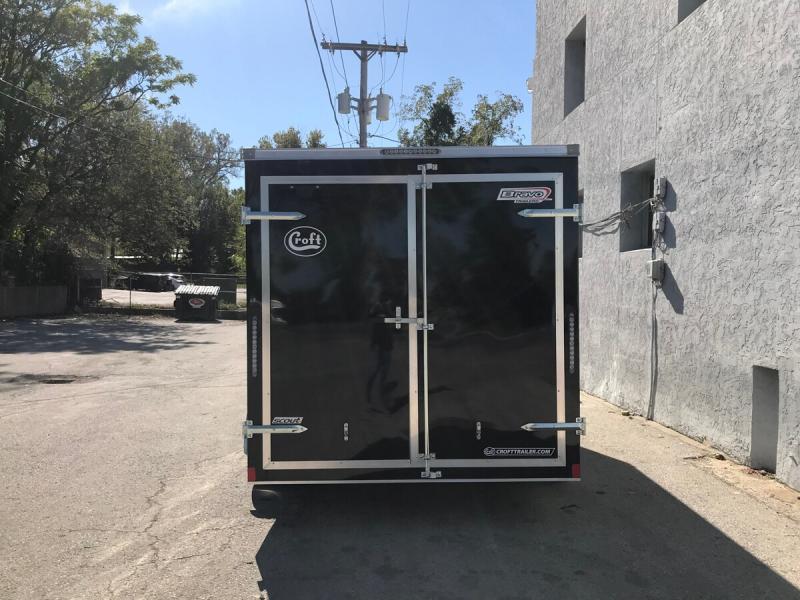 2020 Bravo 7'x14' Enclosed w/ Rear Barn doors
