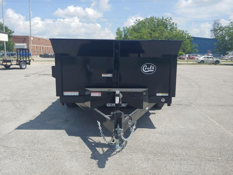 "2020 Sure-Trac 80""x12' HD Low Pro Dump Trailer - 12k"