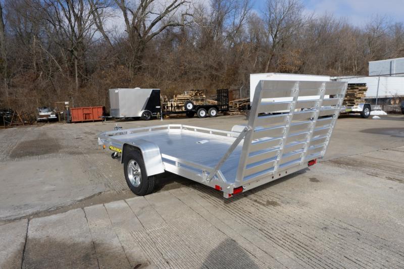 "2020 Aluma 77""x12' Aluminum Utility Trailer - 3.5K"