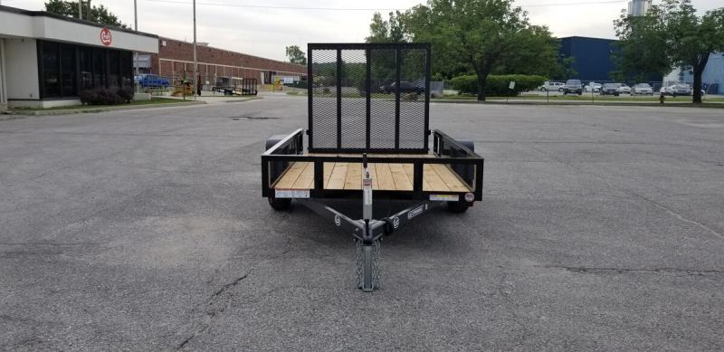 2020 Sure-Trac 5'x8' Angle Iron Utility Trailer