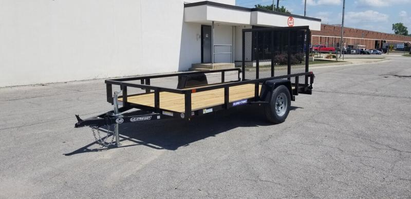 2020 Sure-Trac 6'x12' Tube Top Utility Trailer