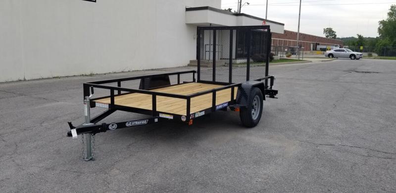 2020 Sure-Trac 6'x10' Angle Iron Utility Trailer