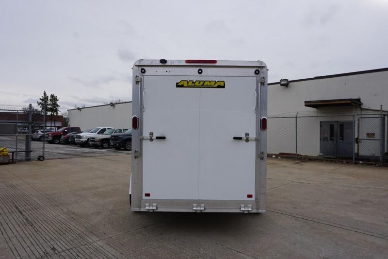 Aluma 6'x10' Single Axle Enclosed w/ Ramp Door