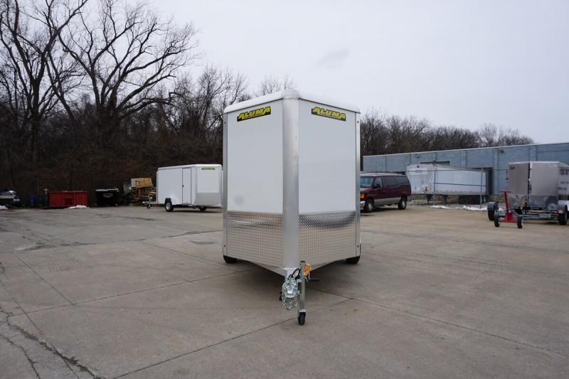 Aluma 6'x10' Single Axle Enclosed w/ Ramp Door