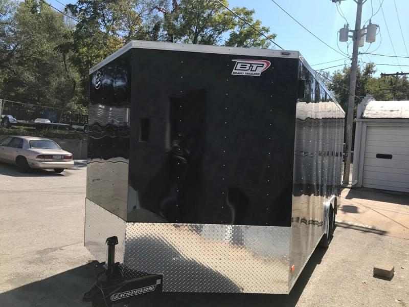 2020 Bravo 8.5'x18' Enclosed w/ Ramp Door