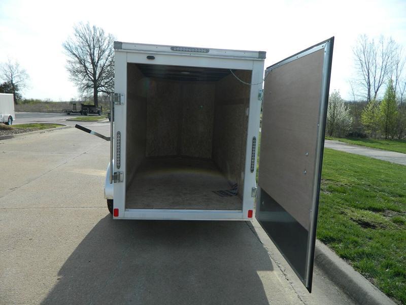 2019 Bravo 5'x10' Enclosed w/ Rear Barn doors