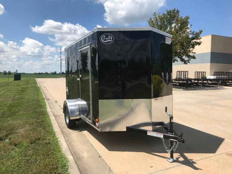 2020 Bravo 6'x10' Enclosed w/ Ramp Door