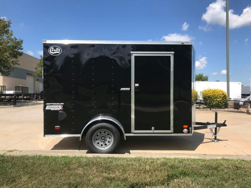 2020 Bravo 6'x10' Enclosed w/ Ramp Door