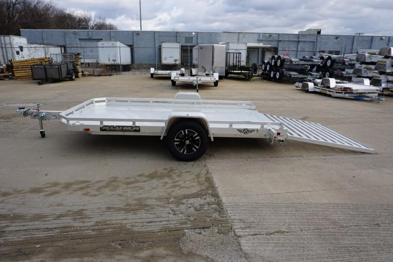 "Aluma 77""x12' 25th Anniversary Edition Utility Trailer - 3.5K"
