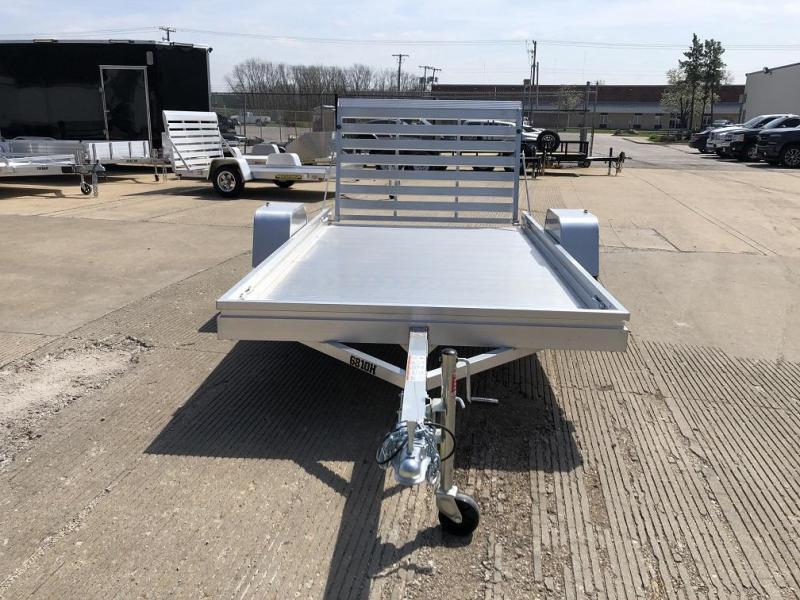 "Aluma 68""x10' Aluminum Utility Trailer - 3.5K"